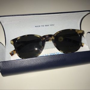 """Warby Parker tortoise sunglasses (""""Downing"""")"""